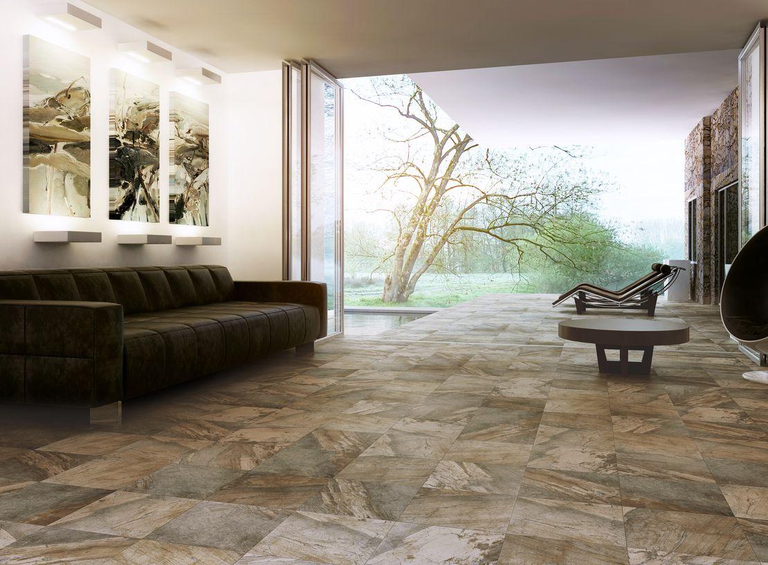 Керамическая плитка в интерьере фото