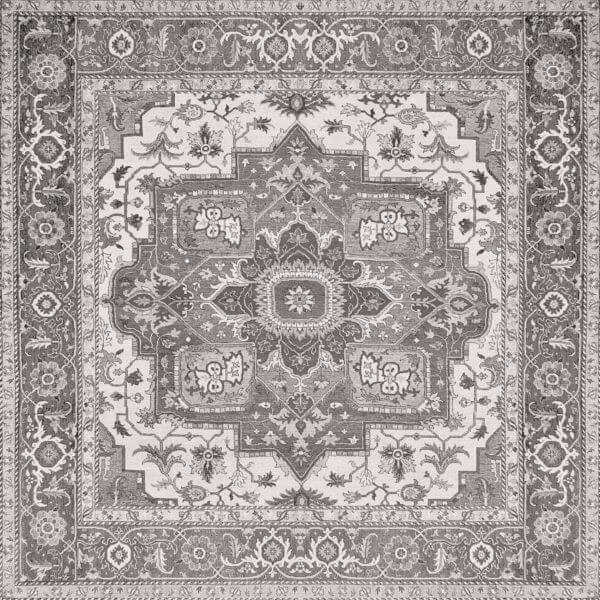 Aparici Kilim Black Natural 59.55x59.55